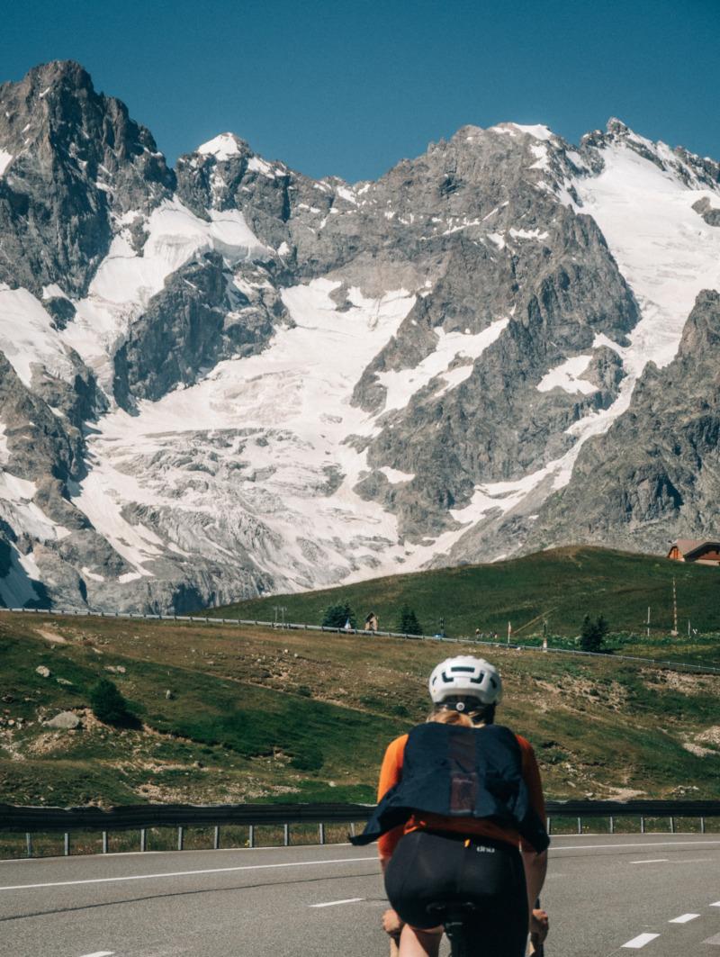 Radfahren in den französischen Alpen